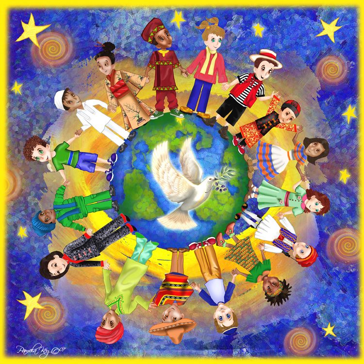 peace multicultural society Canadian society is often depicted as being very progressive, diverse, and multicultural multiculturalism (a just society) was adopted as the official policy of the canadian government during the premiership of pierre elliott trudeau in the 1970s and 1980s.
