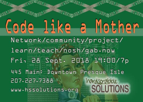 Code like a Mother flyer